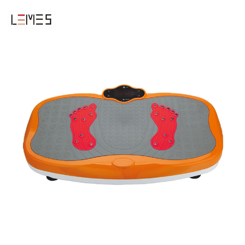 LMS-S010 Home Gym Fitness Power Plate Crazy Fit Massager Vibration Plate for Losing Weight