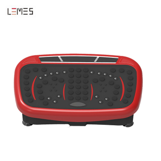 LEMES-S036 Home Use Crazy Fit Mini Size Massage Machine Whole Body Workout Vibration Plate