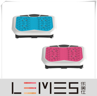LEMES-S038 Home Use Crazy Fit Mini Size Massage Machine Whole Body Workout Vibration Plate